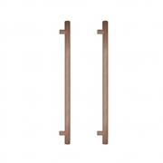 Puxador de Madeira Redondo Cedro 80cm - Casmavi