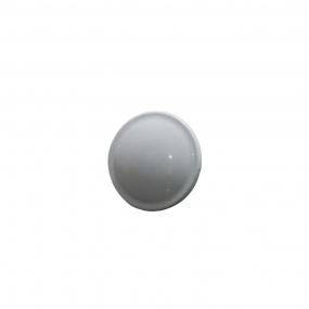 Puxador Ponto Branco 30mm - Speed