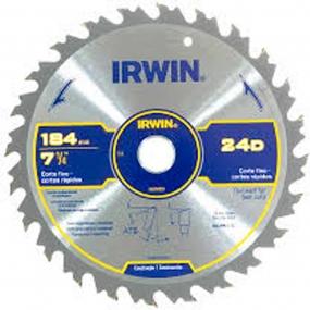 Serra Circular Cortes Rapidos  184Mmx36Dx20Mm - Irwin