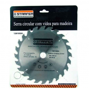 Serra Circular Widea 200mm X 24 dentes  - Starfer