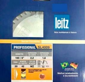 Serra HW 250x2,8/2x30 Z80 WZ 2/10/60; 2/9/46,35; 2/7/42 (Para Eucalipto) - Leitz