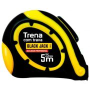 Trena 5 Metros x 25mm Auto Travante D007 - Black Jack