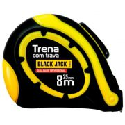 Trena 8 Metros x 25mm Auto Travante D008 - Black Jack