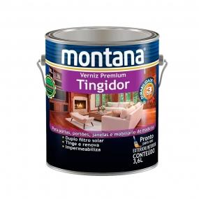 Verniz Tingidor Mogno Brilho 3,6L - Montana