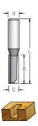 Fresa Reta Profissional 12mm X 75mm -Haste 12 [P201202] - WPW