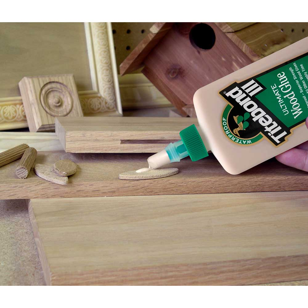 Cola III Ultimate Wood Glue (473ml) – Titebond