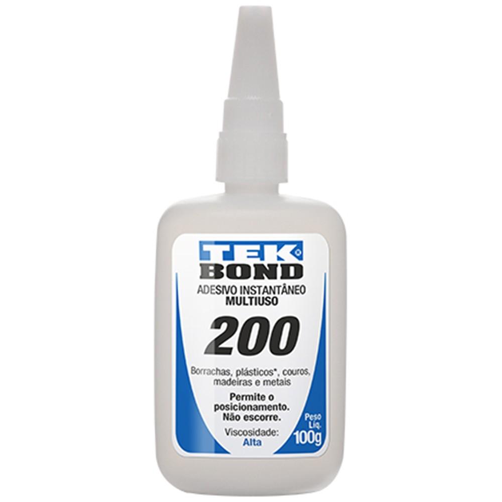 Adesivo Instantâneo 200 100g - Tekbond