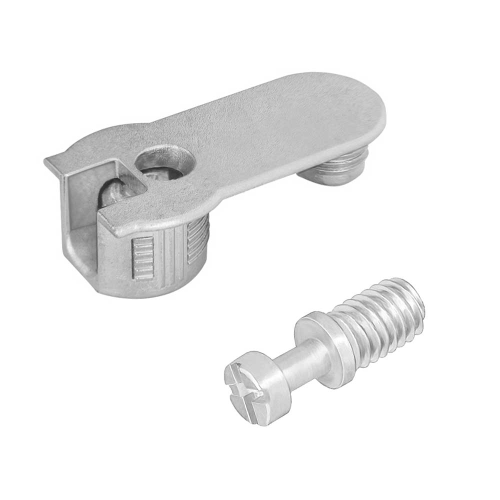 FBA45 16/19 Zamak Niquelado c/ Parafuso M6X8mm (10 peças) - FGVTN