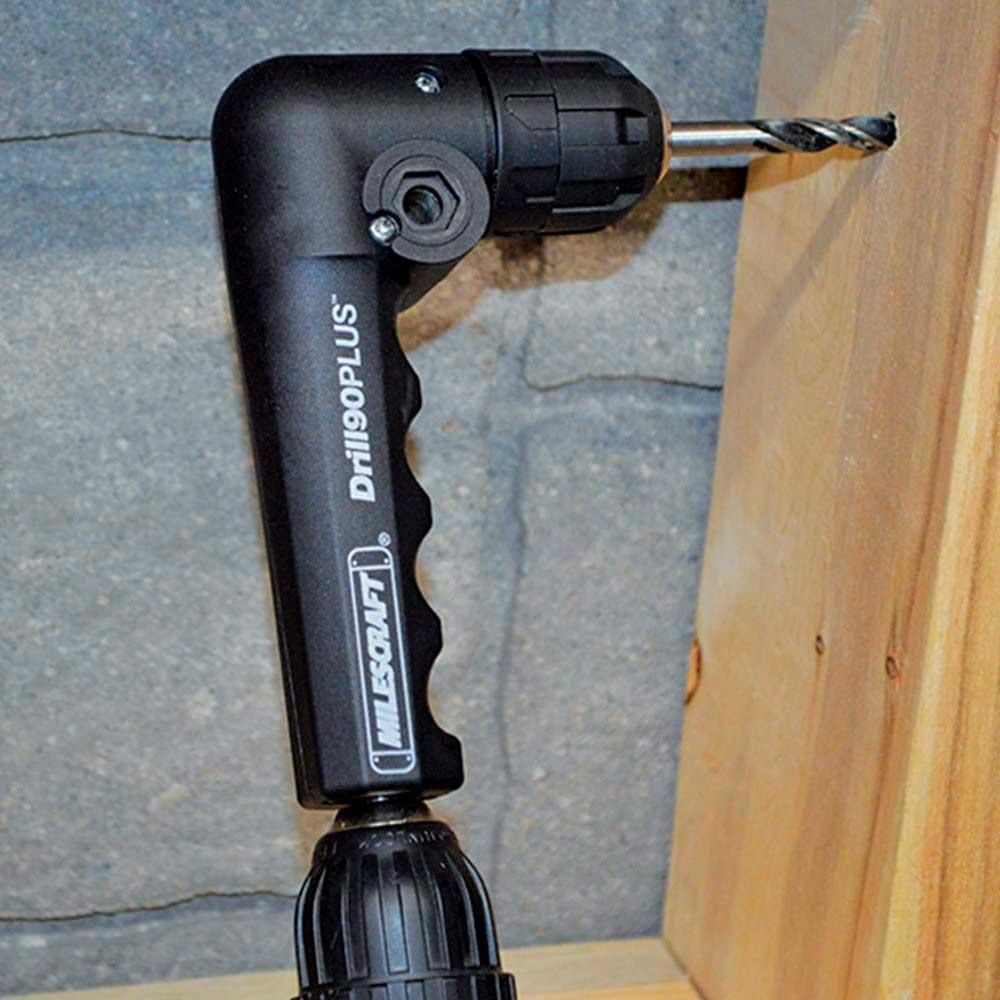 Adaptador Angular 90º Para Furadeira (Drill Plus) - Milescraft