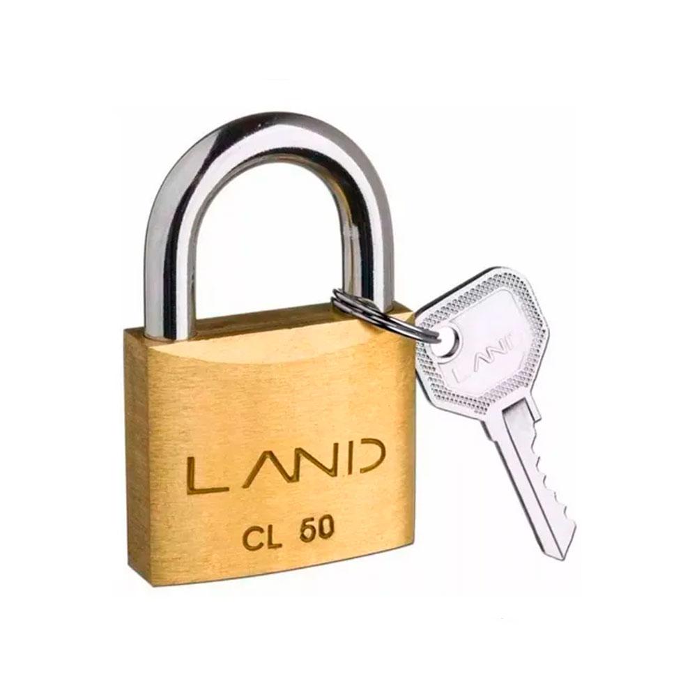 Cadeado Latao Land 50Mm - Starfer