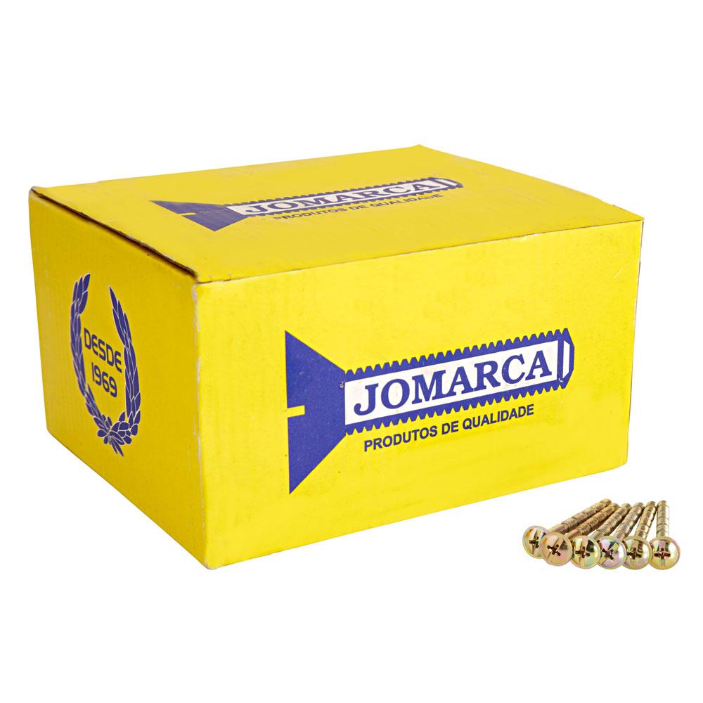 Caixa De Parafuso Flangeado 5,0X60Mm Bi (200 Peças) - Jomarca