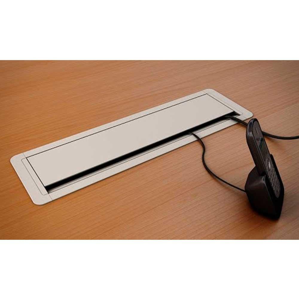 Caixa Mesa New Slim / 3Nbr20A+ 3Furacao Key - Branco - Dutotec