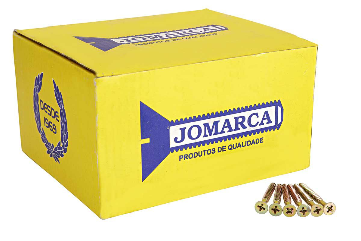 Caixa Parafuso 4,0X50 (500 Pçs) - Jomarca
