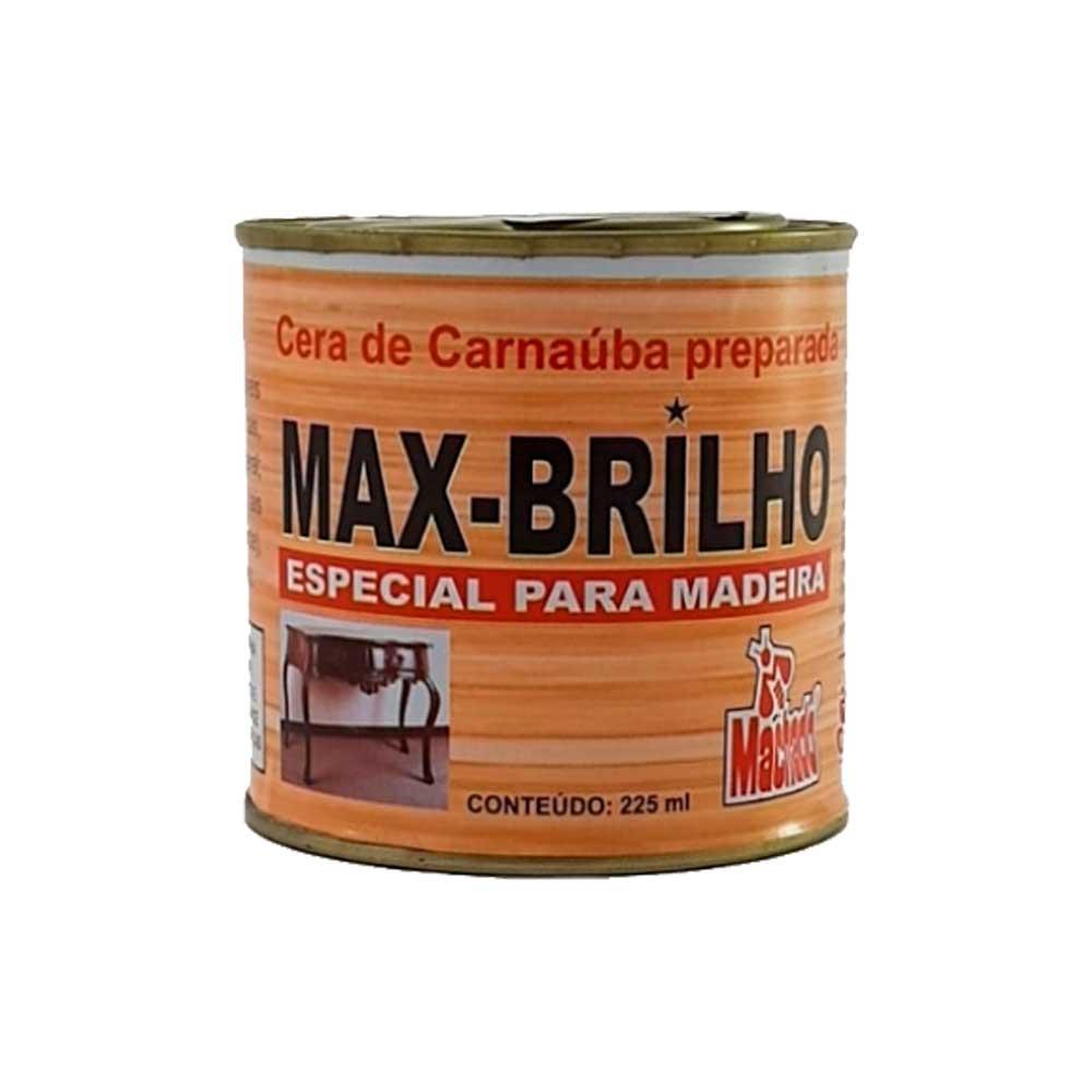 Cera Max Brilho 225 ML Mogno - Machado