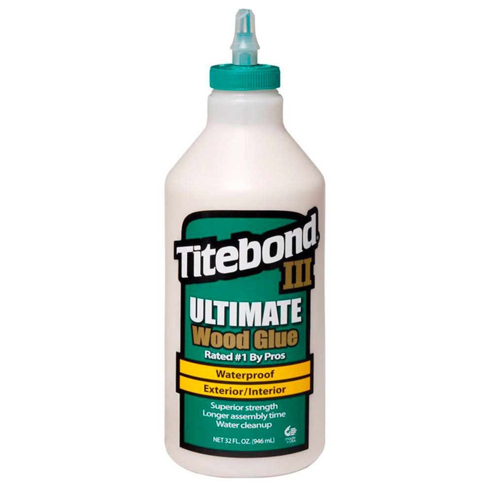 Cola III Ultimate Wood Glue (946ML) – Titebond