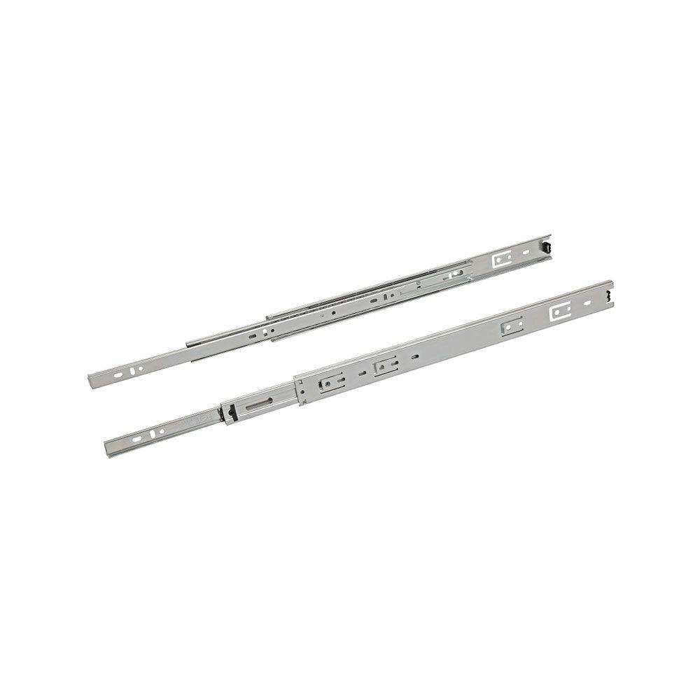 Corrediça Telescópica Light 400Mm (Par) - Metalnox