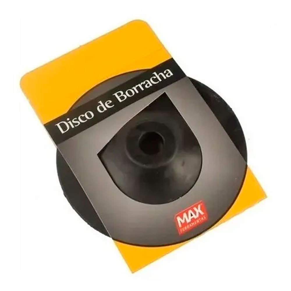 Disco de Borracha 4.5 Max  para esmerilhadeira 15110- Starfer