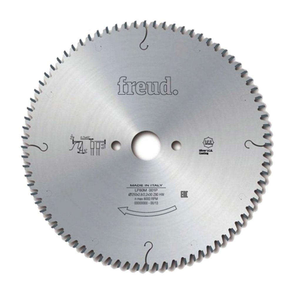 Disco de Serra Meia Esquadria 250x2,8mm LP80M001P 80 dentes - Freud