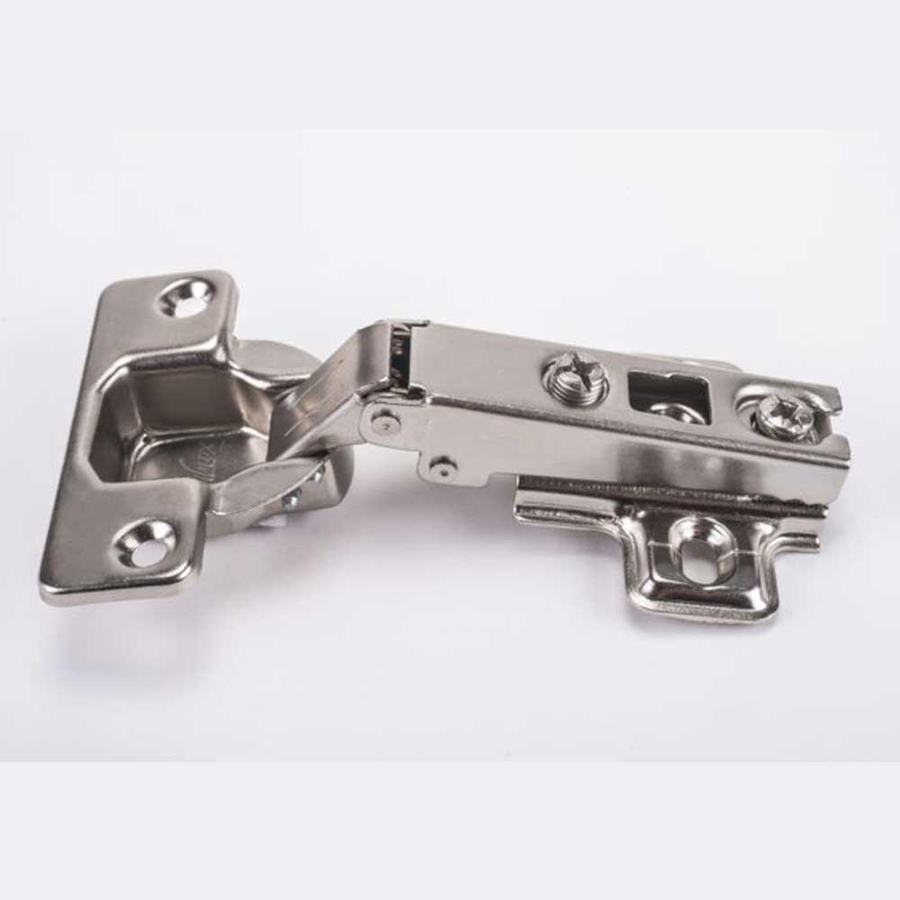 Dobradiça Reta 35mm + Calço (10 peças) - Metalnox