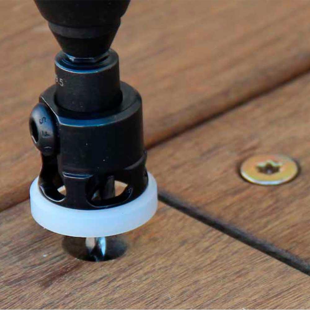 Escareador Countersink com Stopper Nylon 8mm x 3mm HEX/60 (AQP3004SC) - WPW
