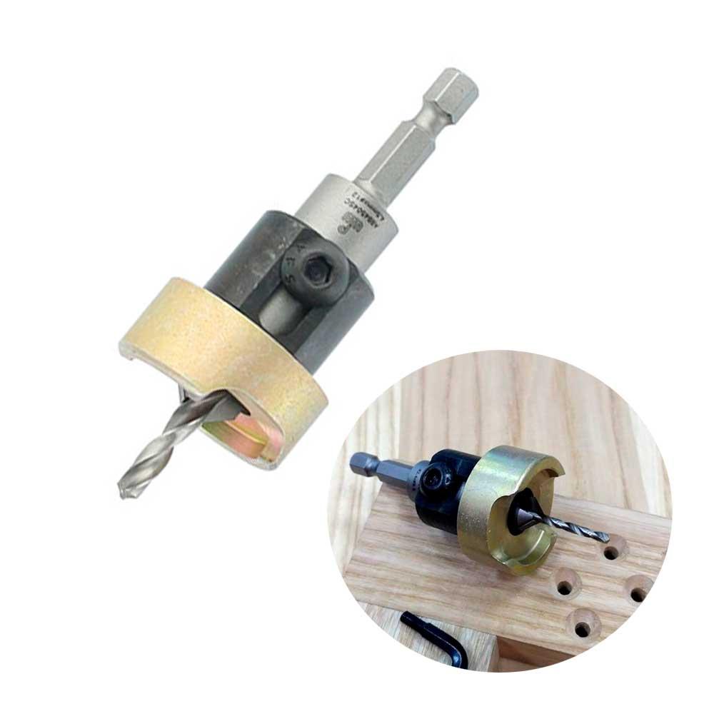 Escareador Countersink Alumínio 12,7mm com Broca 6mm -H10/65 (ALB6007SC) WPW