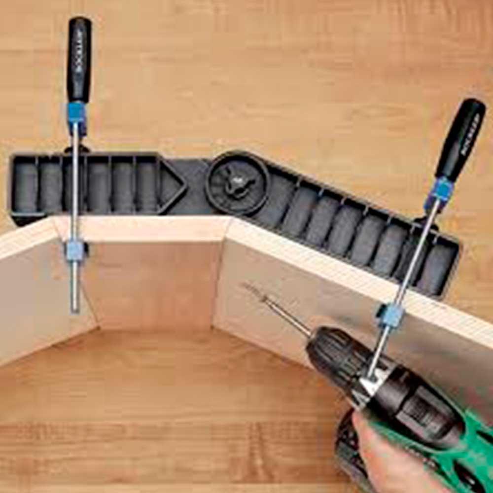 Esquadro Marceneiro Ajustável (Adjustable Clamp-It®) - Rockler