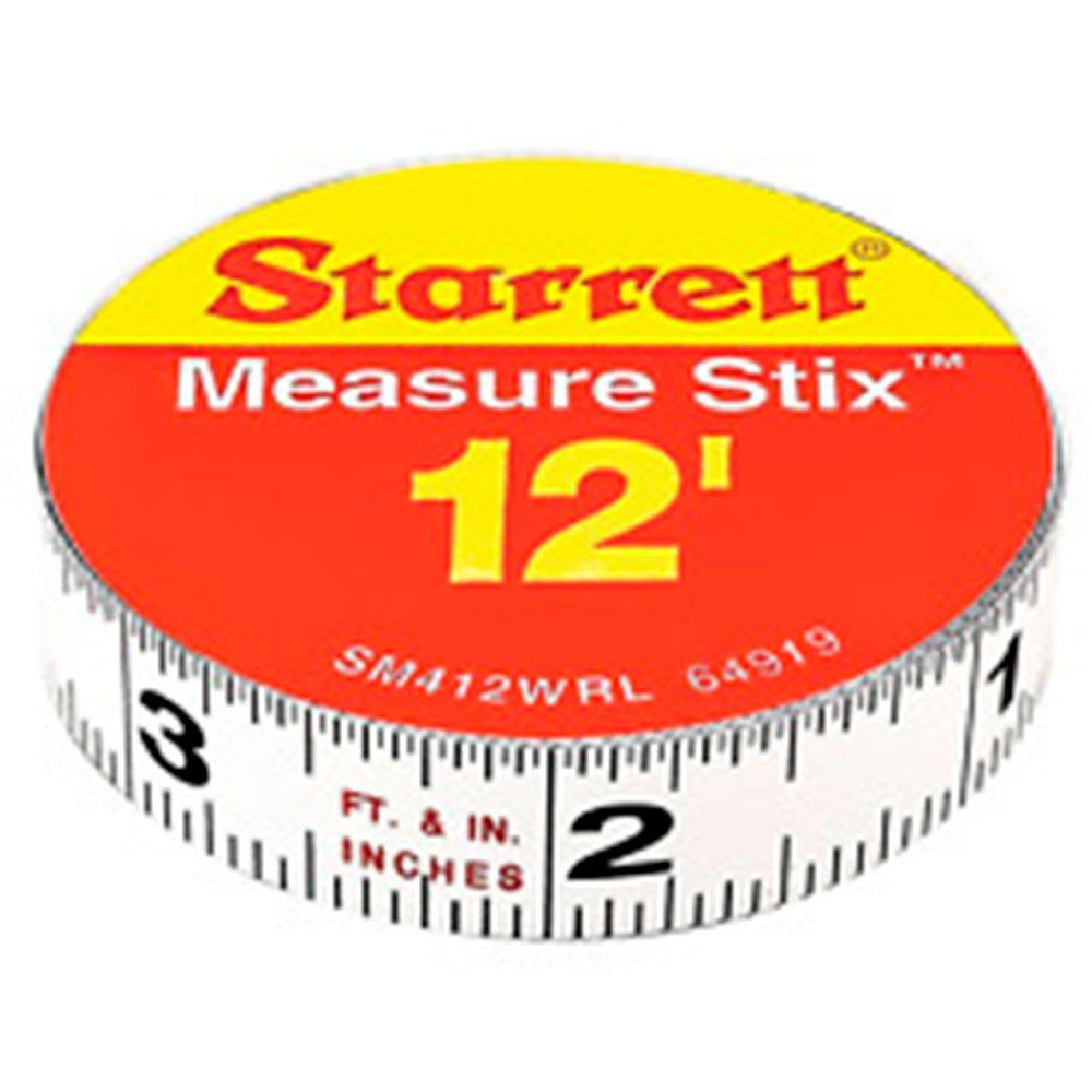 Fita Aço Graduada Stix 3,6M 12´ - Starrett