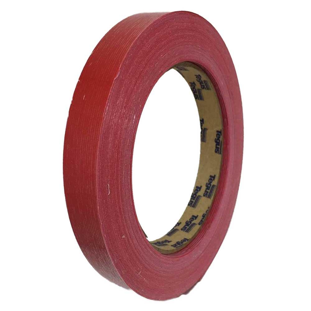 Fita de Borda 20mx22mm Vermelho Escarlate EU - Tegus