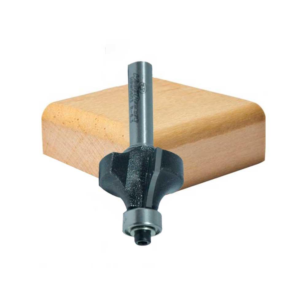 Fresa Borda Arredondada com Rol. R6.3 - 9,5mm-22mm x 13mm -H6/47 (HRW0603) - WPW