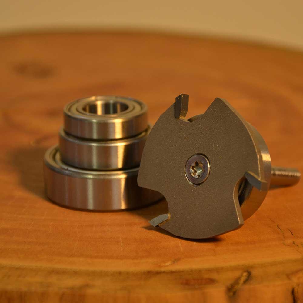 WPW - Fresa De Canal 4mm 4 Rolamentos - H6