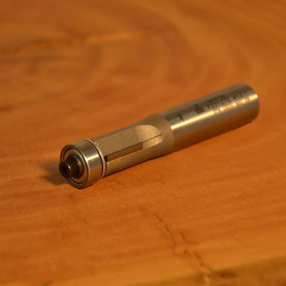 "Fresa Reta com Rolamento ""Profissional 12,7mm X 13mm -Haste 12 [F221272] - WPW"