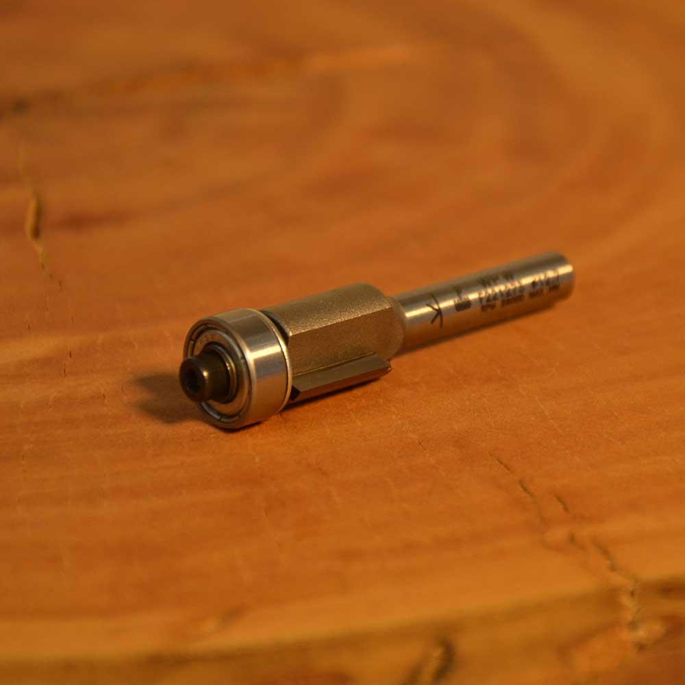 """WPW - Fresa Reta com Rolamento 1/2"""" 12,7mmx13mm - H6/53K"""