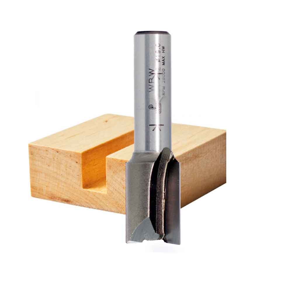 Fresa Reta Profissional 12mm X 32mm -Haste 12 [P252502] - WPW