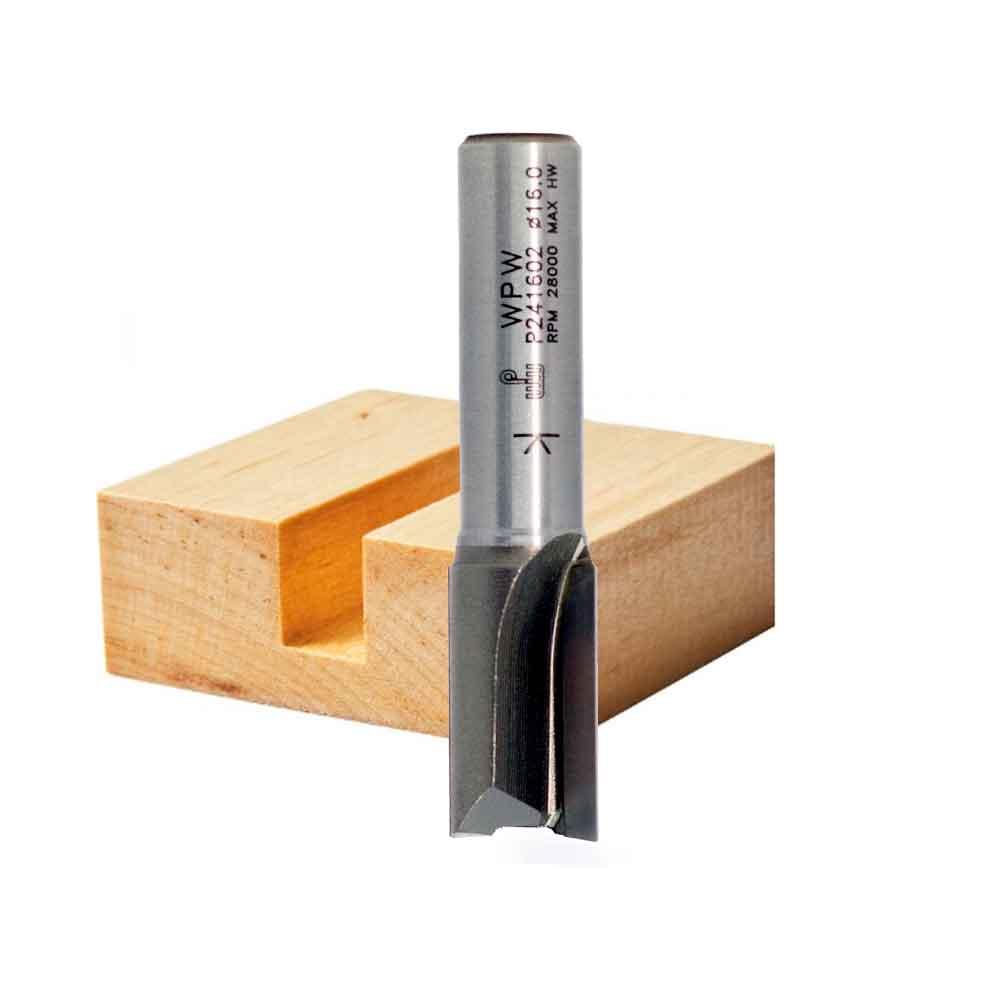 Fresa Reta Profissional 16mm X 25mm -Haste 12 [P241602] - WPW