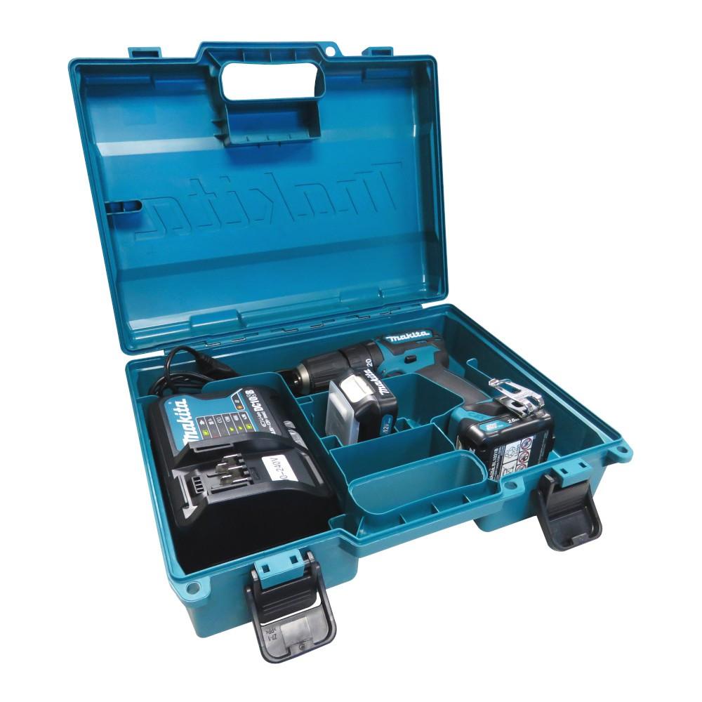 Furadeira/ Parafusadeira de Impacto 12V com 2 Baterias e Maleta HP332DSAE - MAKITA