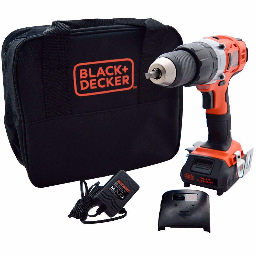 Furadeira/Parafusadeira de Impacto HP14 - Black&Decker
