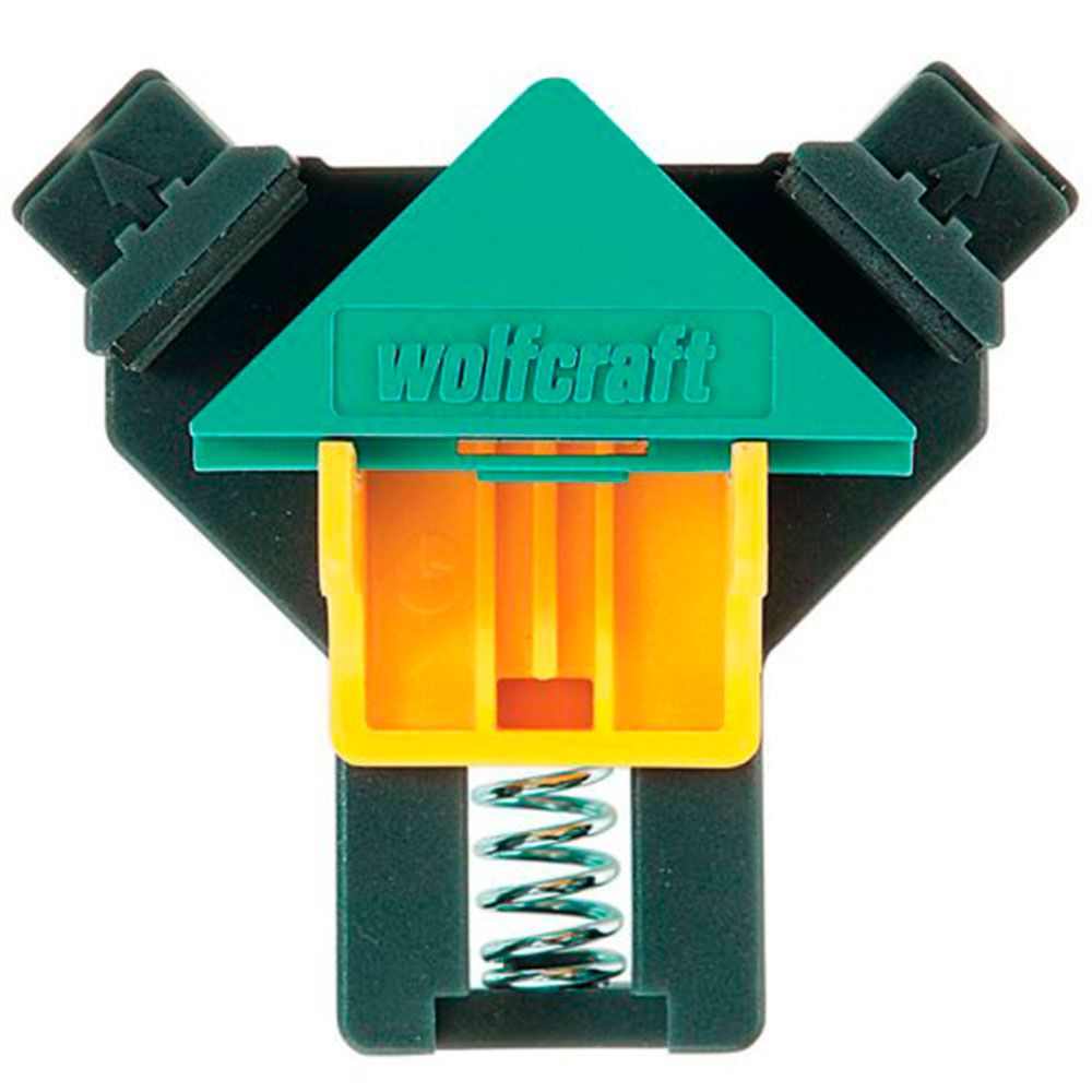 "Gabarito ""Clip Angular"" 90º Kit 2 peças - Wolfcraft"