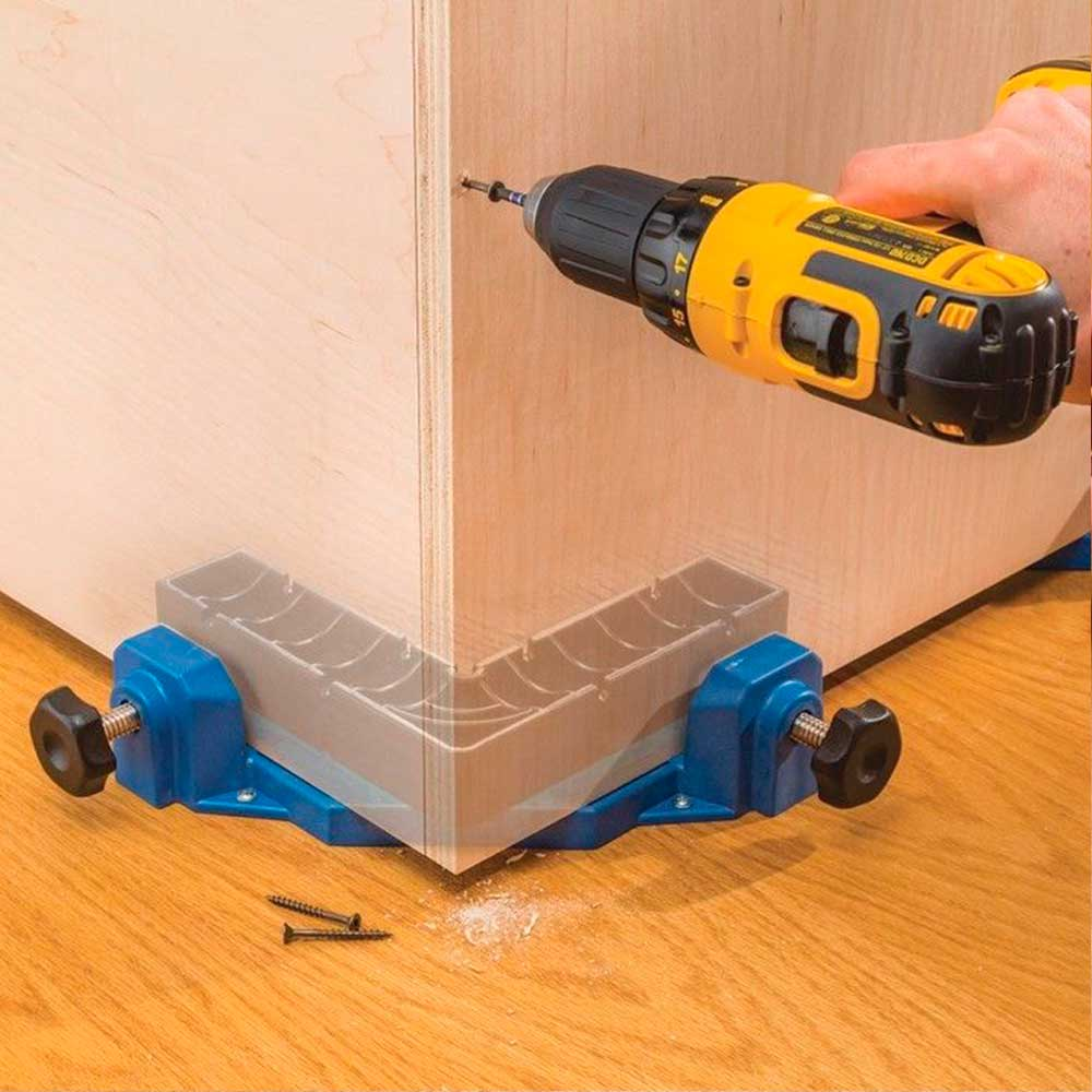 Gabarito Grampo Angular 90º (Clamp It) - Rockler