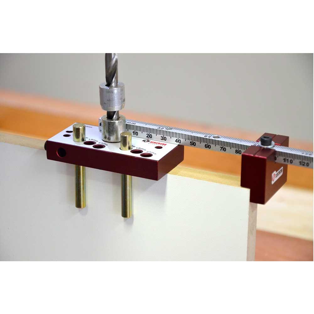 Gabarito Minifix NEW (s/ brocas e Fresas) Escala Milimétrica - Zinni