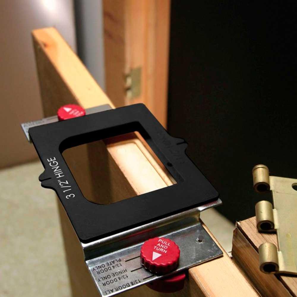 Gabarito para Instalação de Portas e Fechaduras - Milescraft