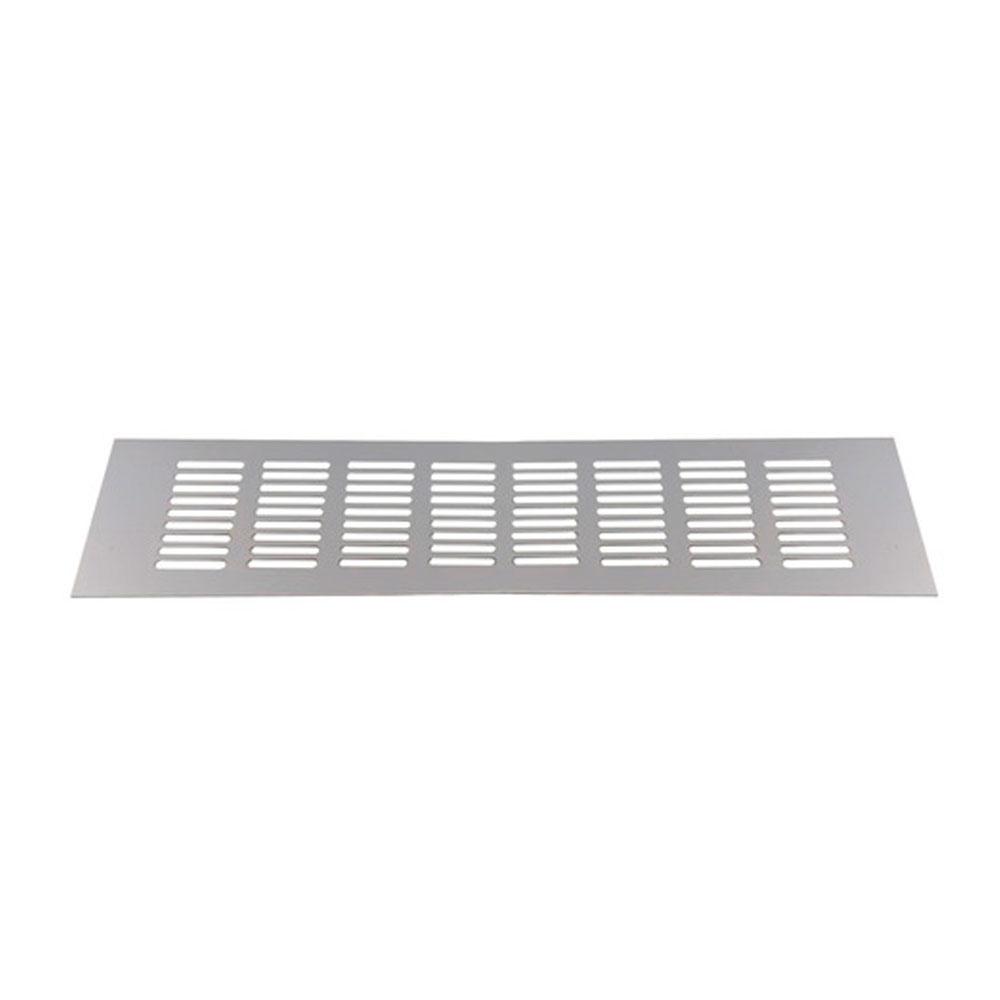 Grade de Ventilação em Alumínio 80X250mm Fosco - Maxima