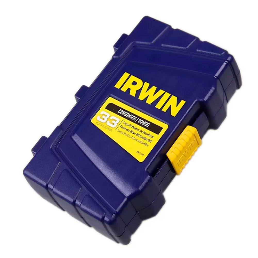 Jogo de Bits Profissional Power 33 Peças 1865331 - Irwin