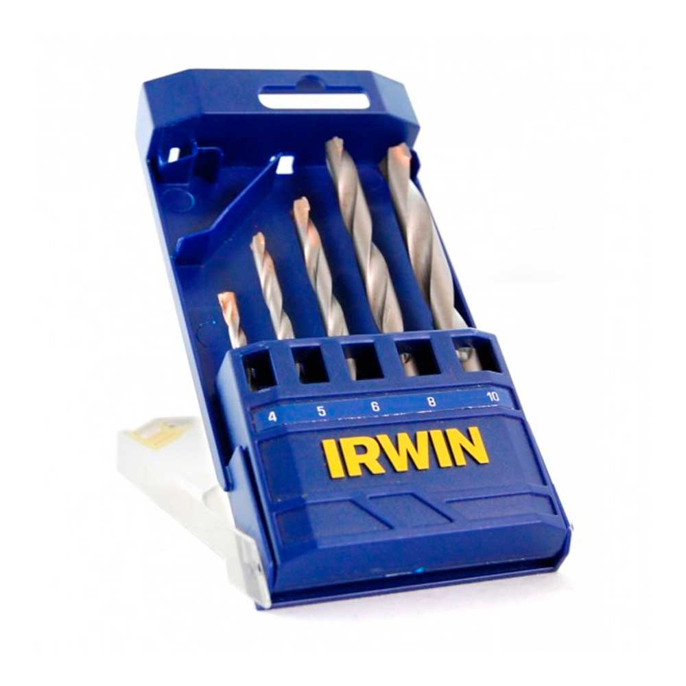 CONJ BROCAS MD IRW 5PCS  4-10MM ETJ - IRWIN