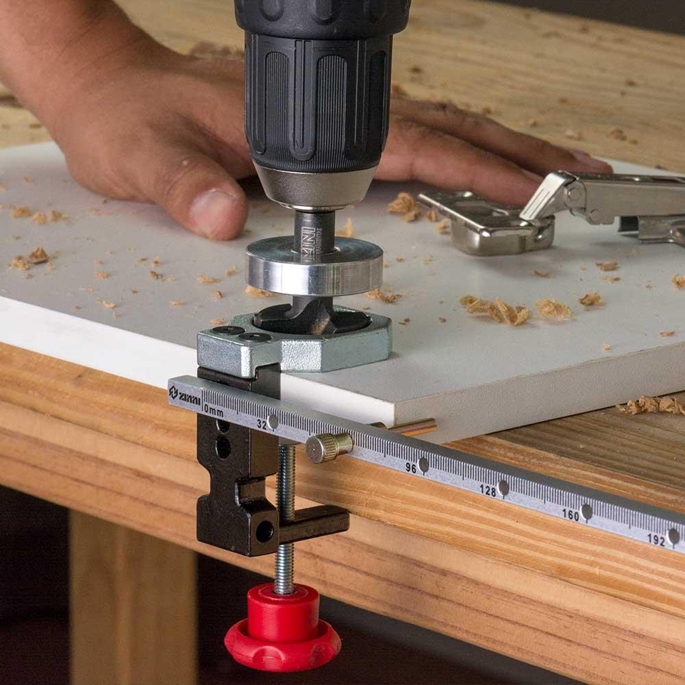 Kit de Fresas (15mm,20mm,26mm e 35mm) + Limitadores  - Zinni