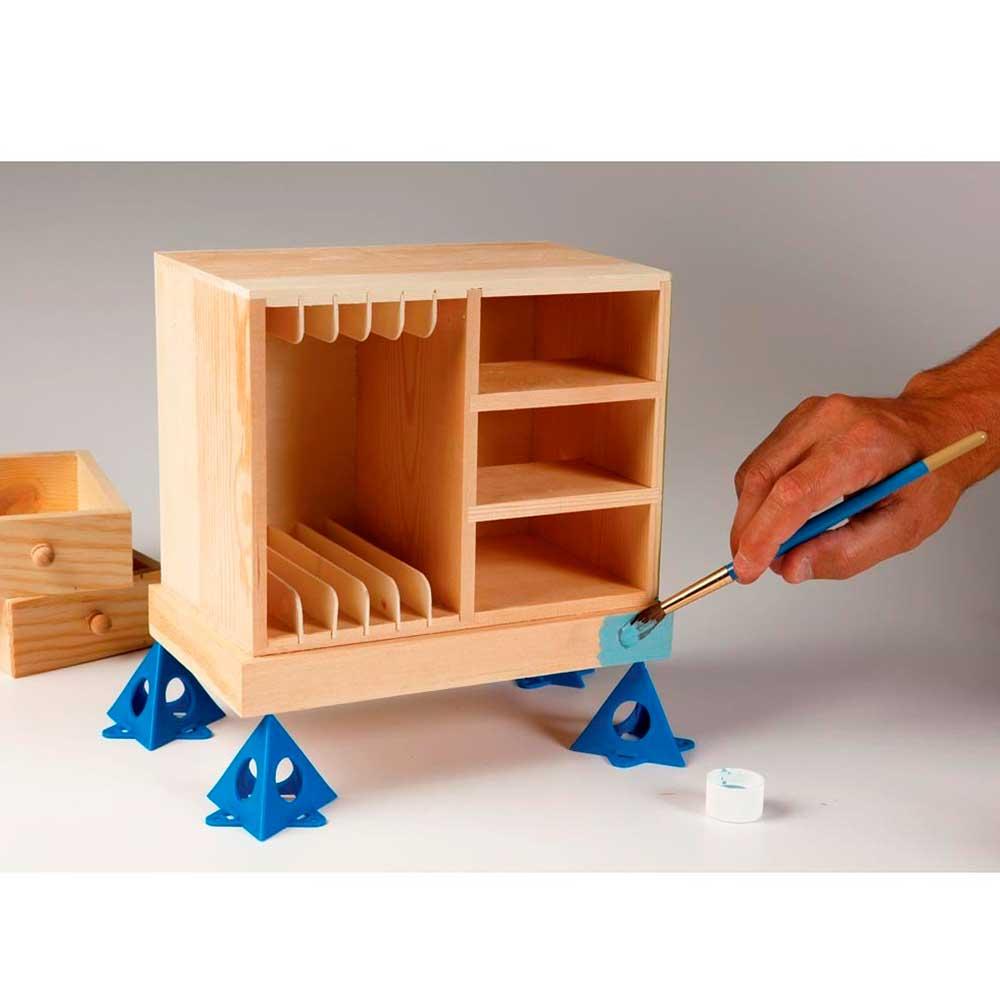 Kit de Grabber Piramides para Apoio (10 Peças) (Painter's Pyramid) - K&M