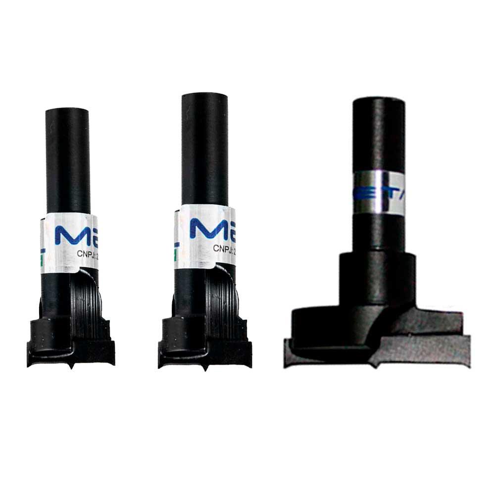 Kit Fresas Minifix, VB e Dobradiça - Metali