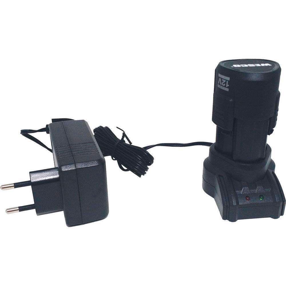 Kit Parafusadeira e Chave de Impacto 12V WS1000K2 - Wesco