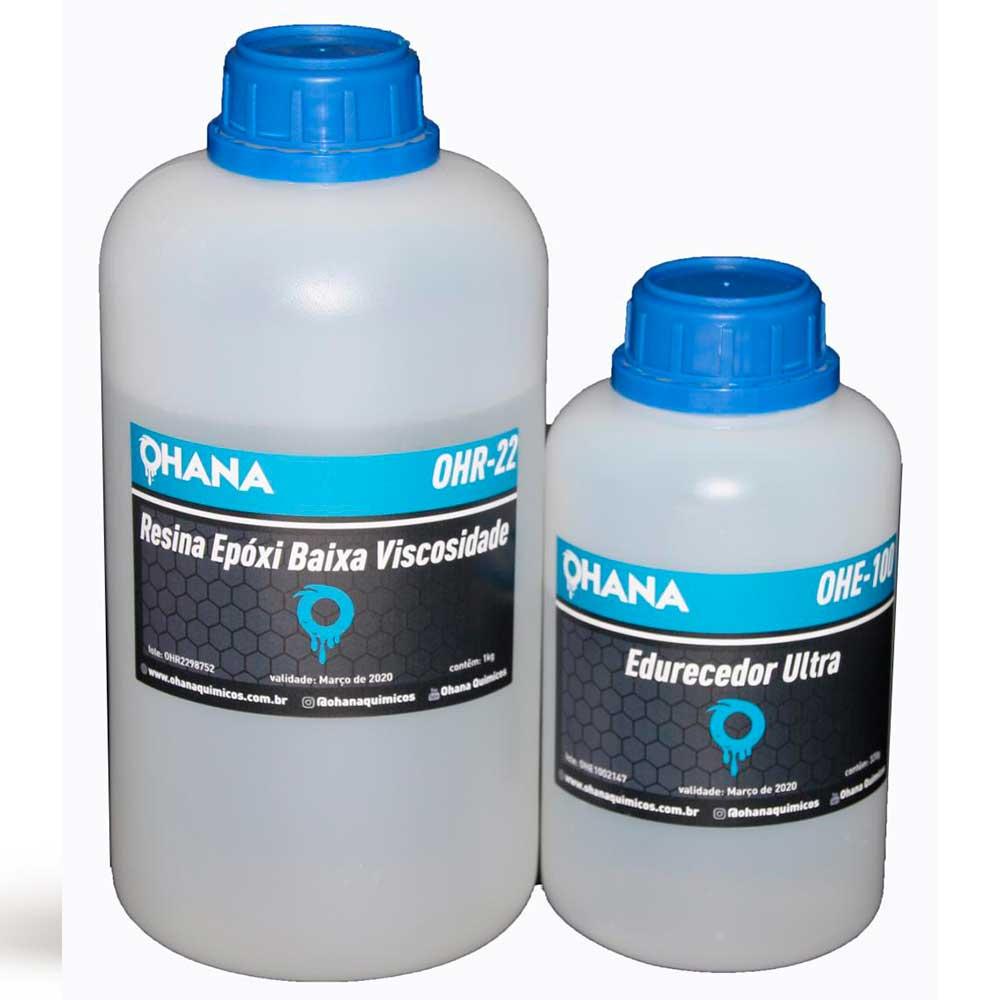 Kit Sistema Ultra - 500g de Resina + 160g de Endurecedor - Ohana