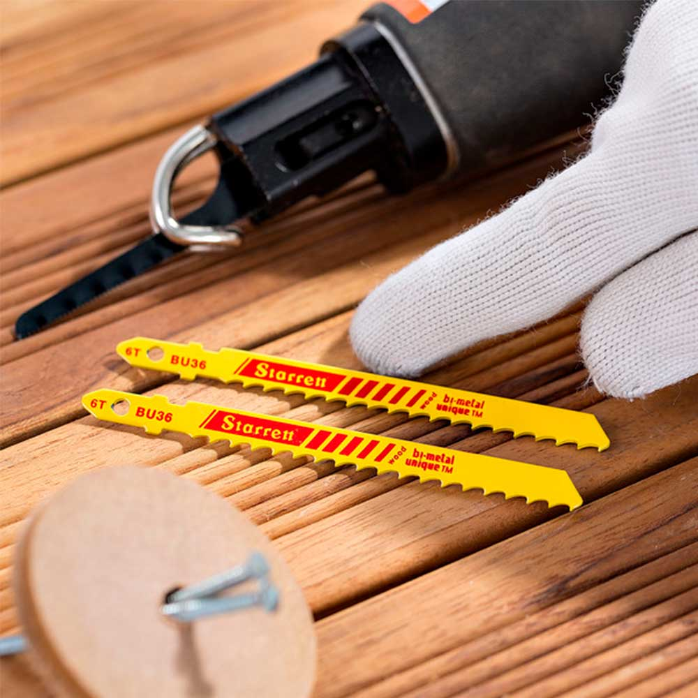 Lâmina para Serra Tico-Tico BU36 75mm - Starrett