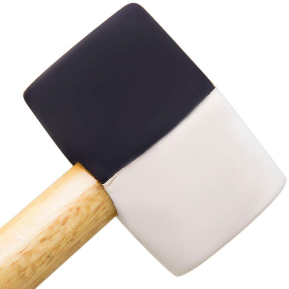 Martelo de Borracha c/ 2 durezas 600g - Black Jack